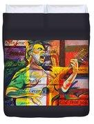 Dave Matthews-bartender Duvet Cover by Joshua Morton