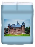 De Haar Castle. Utrecht. Netherlands Duvet Cover by Jenny Rainbow