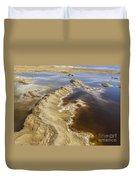Dead Sea Landscape Duvet Cover by Dan Yeger