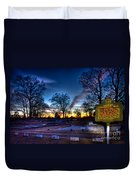 Deadly Silence    Duvet Cover by Reid Callaway