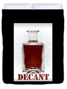 Decant Duvet Cover by Frank Tschakert