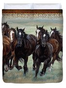 Deco Horses Duvet Cover by JQ Licensing