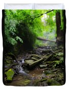 Deep In The Woods Duvet Cover by Bill Cannon