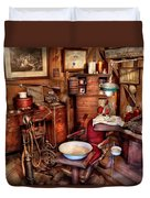 Dentist - The Doctor Will Be With You Soon  Duvet Cover by Mike Savad