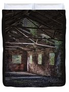 Derelict Building Duvet Cover by Amanda Elwell