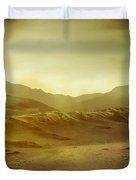 Desert Duvet Cover by Brett Pfister
