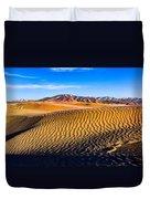 Desert Lines Duvet Cover by Chad Dutson
