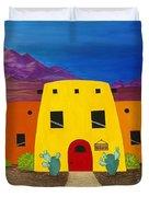 Desert Oasis Duvet Cover by Carol Sabo