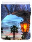 Desert Sunset View Duvet Cover by Heidi Smith