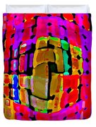 DESIGNER PHONE CASE ART COLORFUL RICH BOLD ABSTRACTS CELL PHONE COVERS CAROLE SPANDAU CBS ART 138 Duvet Cover by CAROLE SPANDAU