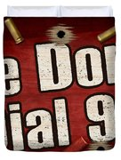 Dial 911 Duvet Cover by JQ Licensing