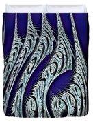 Digital Carvings Duvet Cover by Anastasiya Malakhova