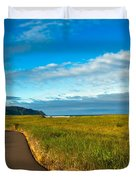 Discovery Trail Duvet Cover by Robert Bales