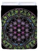 Divine Feminine Energy Duvet Cover by Keiko Katsuta