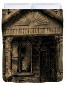 Do Not Enter Duvet Cover by John Malone