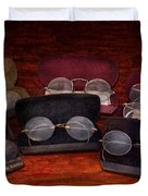Doctor - Optometrist - Array of Opticals Duvet Cover by Mike Savad