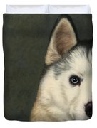 Dog-Nature 9 Duvet Cover by James W Johnson