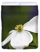 Dogwood Blossom - D001797 Duvet Cover by Daniel Dempster