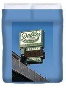 Dolle's Duvet Cover by Skip Willits