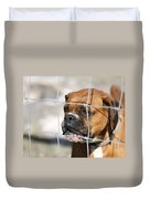 Don't Fence Me In Duvet Cover by Terry Fleckney