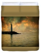 Don't Leave Me Now Duvet Cover by Taylan Soyturk