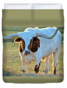 Don't Mess With Me Duvet Cover by Jan Amiss Photography