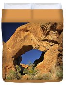 Double Arch - Backside Duvet Cover by Mike McGlothlen