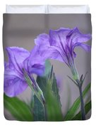 Double The Pleasure Duvet Cover by Penny Meyers