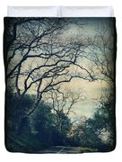 Down That Path Duvet Cover by Laurie Search
