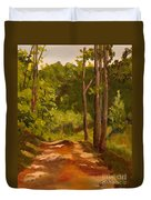 Down The Road Duvet Cover by Janet Felts