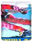 Downhill Racer Duvet Cover by Mike Moore FIAT LUX
