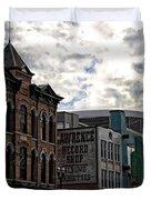 Downtown Nashville Duvet Cover by Dan Sproul