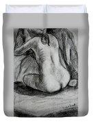 Drapery Pull Duvet Cover by Kendall Kessler