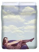 Dreaming To Fly Duvet Cover by Joana Kruse