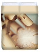 Dreams Of Flying Duvet Cover by Amy Weiss