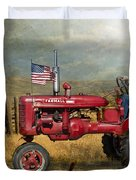 Dreams Of Yesteryear Duvet Cover by Betty LaRue