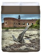 Drift Wood Seal Duvet Cover by Adam Jewell