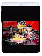 Drive-in Food Classic Duvet Cover by Carolyn Marshall