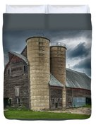 Dual Silos Duvet Cover by Paul Freidlund