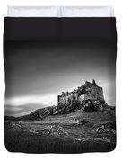Duart Castle Duvet Cover by Dave Bowman