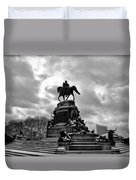 Eakins Oval In Winter Duvet Cover by Bill Cannon