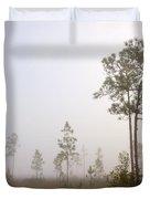 Early morning fog Duvet Cover by Rudy Umans