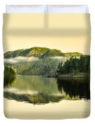Early Morning Reflections Duvet Cover by Robert Bales