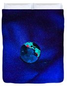 Earth Alone Duvet Cover by First Star Art