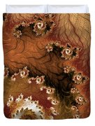 Earth Rhythms Duvet Cover by Heidi Smith