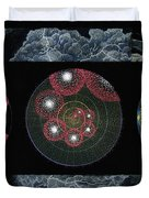 Earth's Beginnings Duvet Cover by Keiko Katsuta