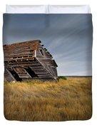 East Montana Texture Duvet Cover by Leland D Howard