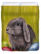 Easter Bunny Duvet Cover by Anastasiya Malakhova