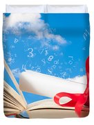 Education Duvet Cover by Amanda And Christopher Elwell