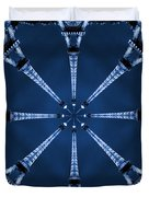 Eiffel Art 21 Duvet Cover by Mike McGlothlen
